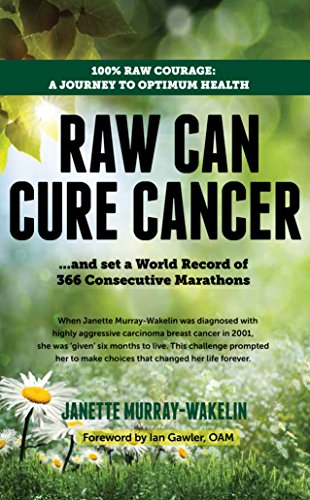 Raw Can Cure Cancer: 100% Raw courage: a journey to optimum health. by Janette M. Wakelin