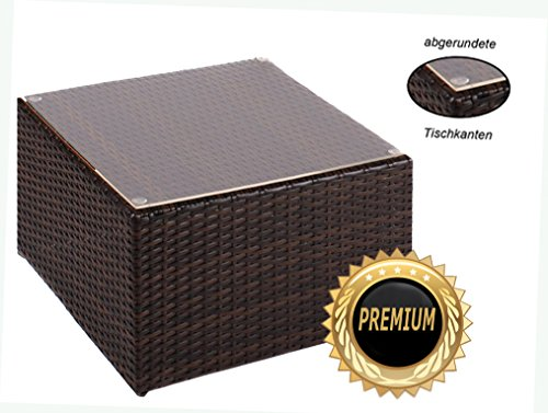 Alu-Beistelltisch-inkl-Plexiglasplatte-4-x-verstellbare-Fe-auch-als-Hocker-nutzbar-90-kg-ohne-Plexiglasplatte-zur-Kombination-Rattan-Sonnenliege-Liege-Lounge-aus-hochwertigem-Polyrattan-Farbe-Java-Bra