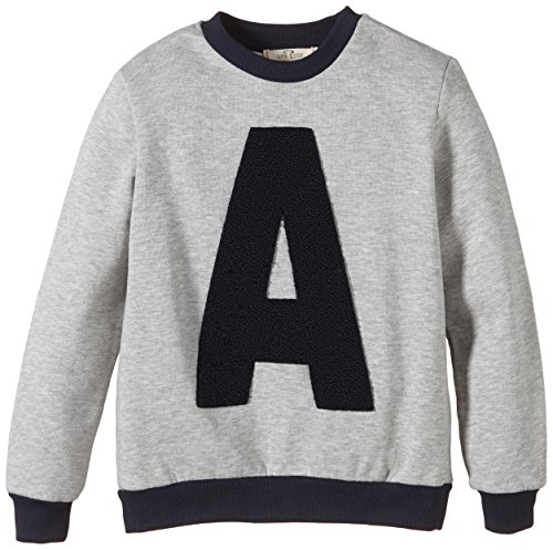 LTB Jeans Jungen Sweatshirt Mikendo S/T^ Gr. 176^ Mehrfarbig (Light Grey Mel 217)