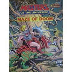 Maze of Doom (Masters of the Universe) by Roger McKenzie and Al McWilliams
