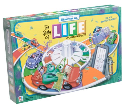 Monster,inc. Edition Life Game (Monsters Inc Game Of Life compare prices)