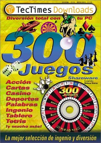 300 Juegos Shareware with CDROM / 300 Shareware Games