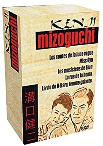 Coffret Mizoguchi, Vol.2 : Les Contes de la lune vague / Miss Oyu / Les Musiciens de Gion / La Rue de la honte / La Vie de O-Haru, femme galante - Coffret 5 DVD [inclus le livret]