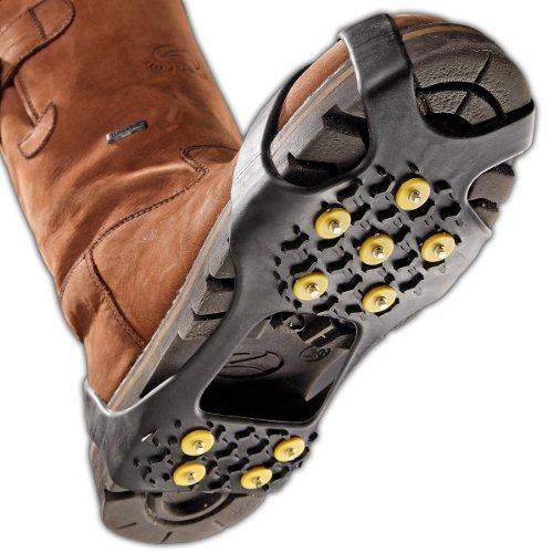 Black Canyon Scarpakrallen Shoespikes Anti Rutsch Sohle Eis, Nero (schwarz), L
