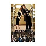 3D Print Hot TV Play Series&Bones Theme Case Cover for iPhone 5/5S- Personalized Hard Cell Phone Back Protective Case Shell-Perfect as gift