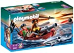 Playmobil 5137 Pirates Rowboat with S...