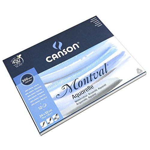Canson 0807319 Blocco Linea Acquerello Montval PDF