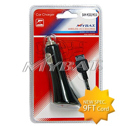 MYBAT Car Charger with IC chips with Package Hot Press for SAMSUNG T404G SAMSUNG T245G SAMSUNG T139 SAMSUNG A697 Sunburst SAMSUNG A107 SAMSUNG U750 Zeal SAMSUNG R310 Byline SAMSUNG R600 HueII SAMSUNG T929 Memoir SAMSUNG R211 SAMSUNG R810 Finesse SAMSUNG A8