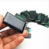 4 PCS -5V 30mA 53X30mm Micro Mini Power Solar Cells For Solar Panels - DIY Projects - Toys - 3.6v Battery Charger