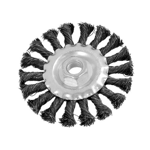 (100mm) Twist Knot Wire Wheel Brush For Angle Grinder