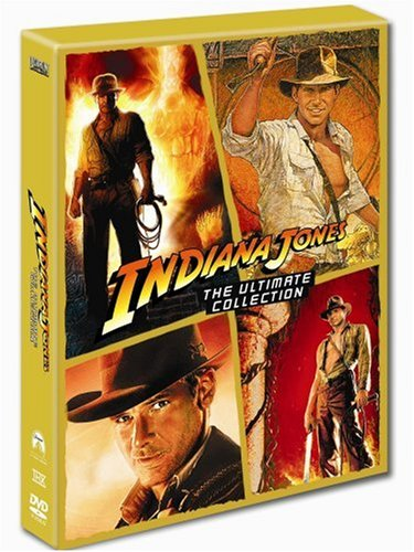 Indiana Jones: The Complete Collection (Raiders of the Lost Ark, Temple of Doom, Last Crusade & Kingdom of the Crystal Skull) [DVD]