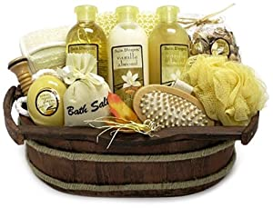 Morgan Avery Bain D'esprit Bath Collection Set, Vanilla Almond