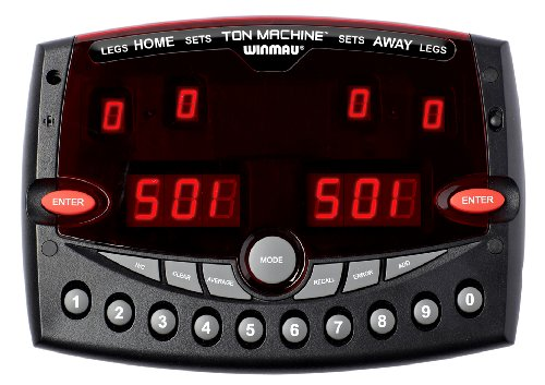 Winmau Ton Machine Professional Electronic Darts Scorer