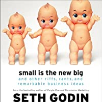 Small Is the New Big: And 193 Other Riffs, Rants, and Remarkable Business Ideas (       ABRIDGED) by Seth Godin Narrated by Seth Godin