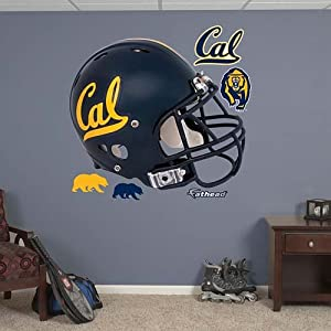 NCAA California Golden Bears Helmet Wall Graphic by Fathead