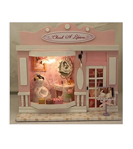 [The Cherish A Lifetime Shop Miniature House Manual Assembly Model] (Vintage Blow Up Halloween Costumes)