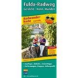 Radwanderkarte Fulda-Radweg, Gersfeld - Hann. Münden: Mit Ausflugszielen, Einkehr- und Freizeittipps, reissfest, wetterfest, abwischbar, GPS-genau. 1:50000