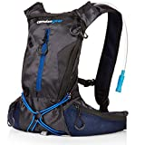 Hydration Pack with 1.5L Backpack Water Bladder. Fits Men and Women with Chest Sizes 27