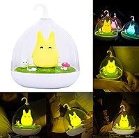 niceEshop(TM) Portable Creative Touch Sensor USB LED Baby Night Light Kids Lamp for Children (Yellow) by niceeshop