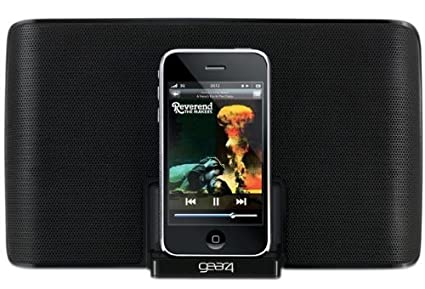 Gear4 Street Party 4 PG550 Portable Speaker (For iPod)