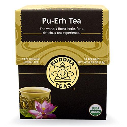 Pu-Erh Tea - Organic Herbs - 18 Bleach Free Tea Bags