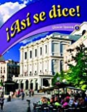 img - for Asi se dice!, Glencoe Spanish 1 (Spanish Edition) book / textbook / text book