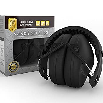Vanderfields NR35X2 Protective, Foldable Shooting Earmuffs / Headphones