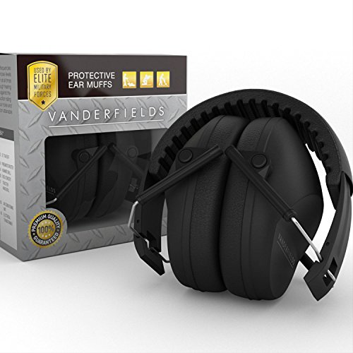 Vanderfields NR35X2 Protective, Foldable Shooting Earmuffs / Headphones (Protective Earmuffs Kids compare prices)