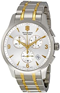 Victorinox Men's 241481 Alliance Analog Display Swiss Quartz Two Tone Watch