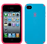 Speck Products CandyShell Case Series for Apple iPhone 4 ( Light Blue / Pin ....