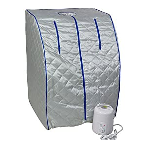 Portable Therapeutic Steam Sauna Spa Detox-Weight Loss, SS01 by FIT FOR GOOD