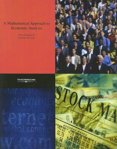 A Mathematical Approach to Economic Analysis