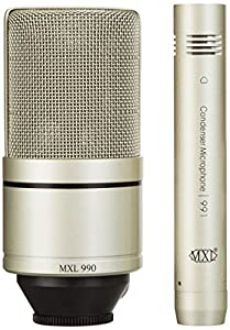 mxl 990 991 recording microphone package musical instruments. Black Bedroom Furniture Sets. Home Design Ideas