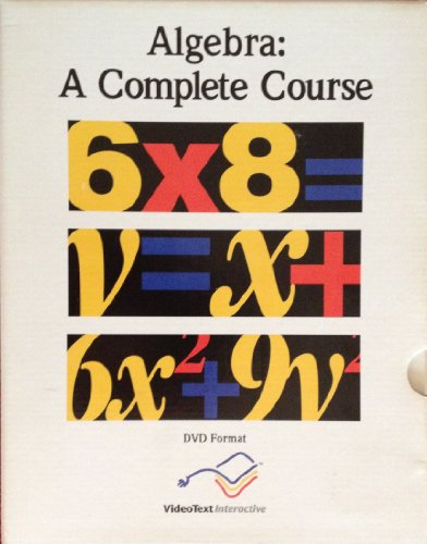 Algebra: A Complete Course (Module A) (Videotext Algebra Module D compare prices)