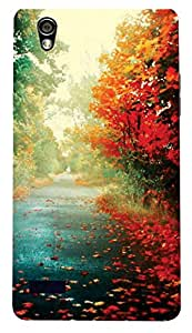 Everything printed /designer back cover case for Oppo Mirror 5 (multicolor)