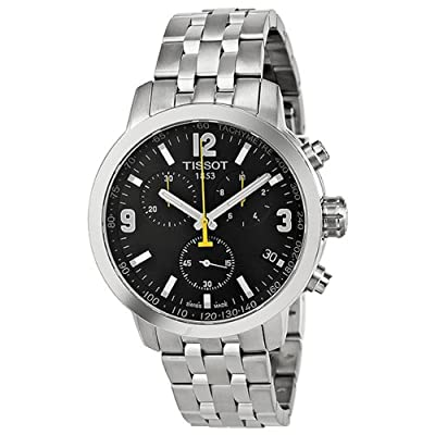 Tissot T-Sport PRC200 Chronograph Mens Watch - Stainless Steel