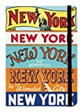 Cavallini Guide Notebooks New York 5 x 7