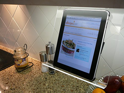 The Patented Kitchen Ipad Rack Stand Holder For All