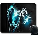 "Blue Dragon Custom Standard Oblong/Rectangle Gaming Mousepad in 220mm*180mm*3mm (9""*7"") -1017040"