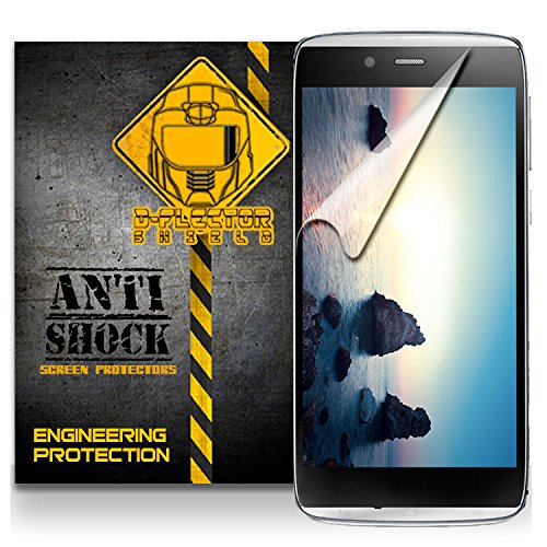 D-Flectorshield Alcatel One Touch Idol Alpha Anti-Shock/Military Grade/ Tpu /Premium Screen Protector / Self Healing / Oleophobic Material / Ez Install / Ultra High Definition / Scratch Proof / Bubble Free Install / Precise Laser Cuts front-625384