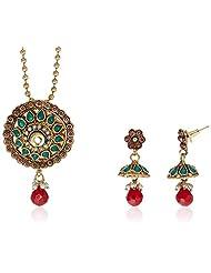 Sia Art Jewellery Set For Women (Multi-Color) (AZ937)
