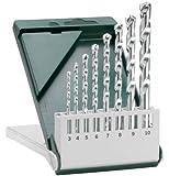Bosch 2609255462 DIY Steinbohrerset 8-teilig 3 x 60 - 4.0 x 75 - 5.0 x 85 - 6.0 x 100 - 7 x 100 - 8.0 x 120 - 9.0 x 120 - 10.0 x 120