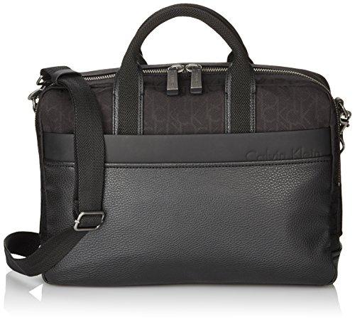 Calvin Klein K50K500687 -  Borsa portatile, Uomo, Colore: Nero