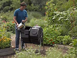 Dual-Batch Compost Tumbler by Gardener's Supply Co.