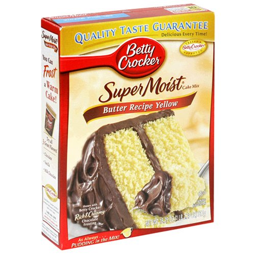 Betty Crocker Super Moist Spice Cake Mix At Amazon