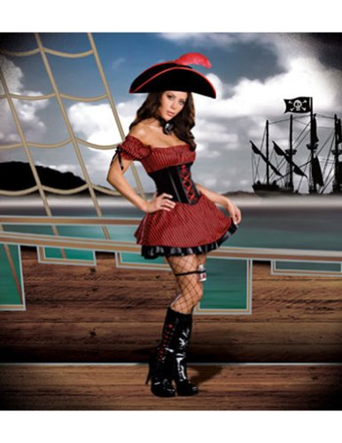 Whats Your Poison Pirate Lg Halloween Costume - Adult Large