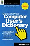 echange, troc Microsoft Press - COMPUTER USER'S DICTIONARY