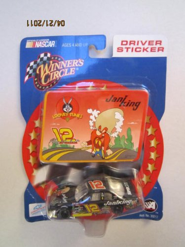 Kerry Earnhardt #12 Looney Tunes Jani King Yosemite Sam Special Paint Scheme 1/64 Scale Diecast & Cartoon Card Insert Winners Circle