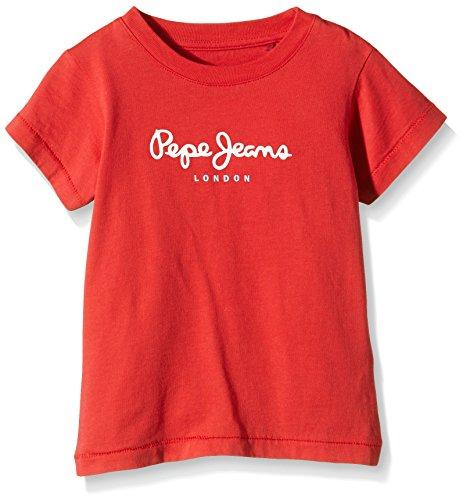 Pepe Jeans Walter Kids-T-shirt  Bimba 0-24    Red (Chilli Red) 24 mesi