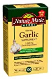 Nature Made Herbs Odorless Garlic 1250mg, 100 Tablets (Pack of 3)